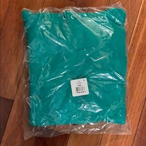 Hanes Shirts - BRAND NEW! Size L Kelly Green Hoodie